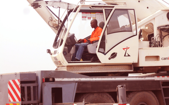 CAMLEV Trains Mobile Crane Operators at Hyclasse Group Cameroon03