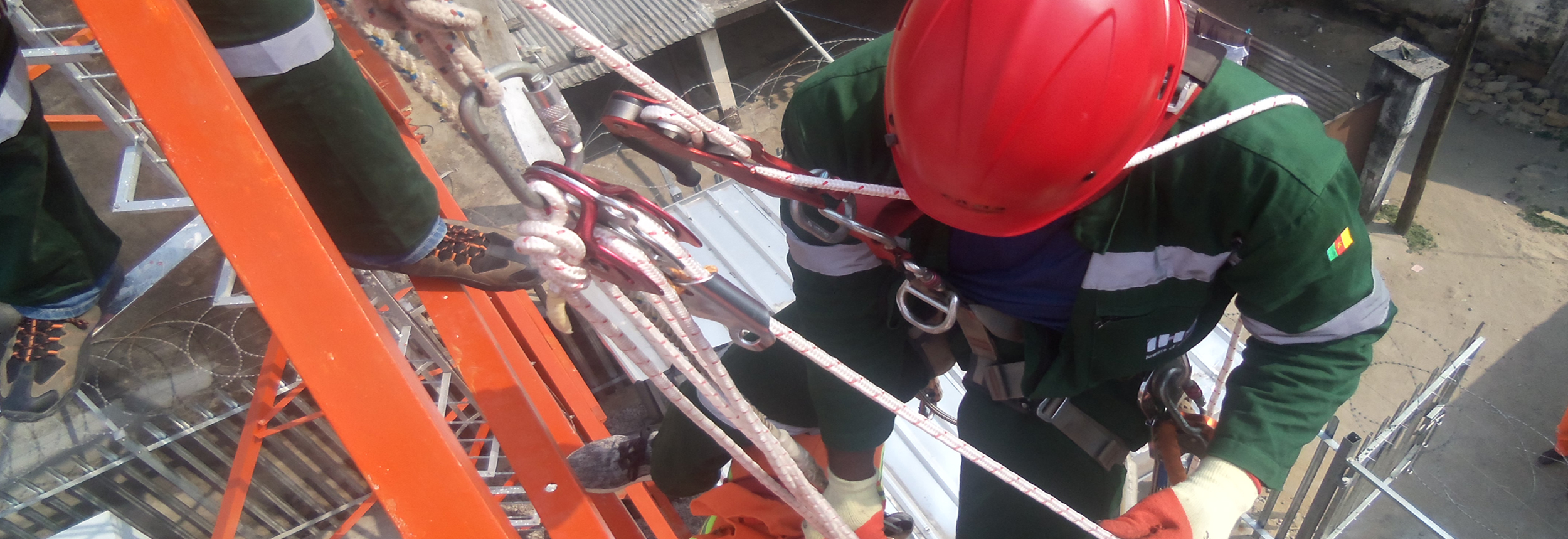 Work and Rescue at Height, IHS Towers Contracts Hy-Classe Training
