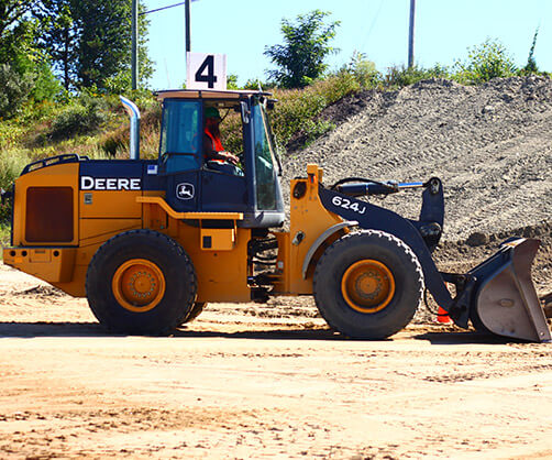 Front End Loader Operator Training in Chad and Central Africa Republic