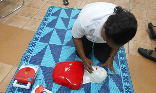 First Aid Training in Cameroon03