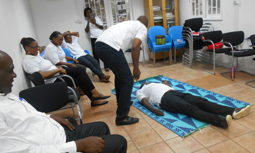 First Aid Training in Cameroon02