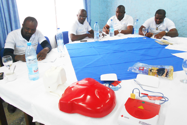 First Aid Training Satelec Fayat - Cameroon 02